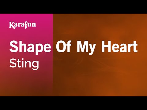 Karaoke Shape Of My Heart - Sting *