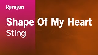Karaoke Shape Of My Heart - Sting * Video