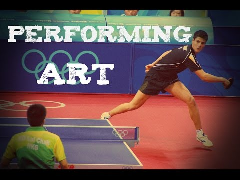 Table tennis - Performing art   [HD]