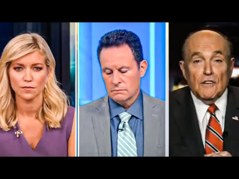 Fox & Friends Awkwardly Try to Get Rudy Giuliani Off the Air