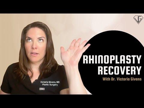 Recovery After Rhinoplasty: Nasal Splints