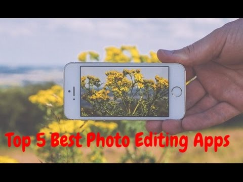 Top 5 Best Photo Editor Apps For Android 2016-2017