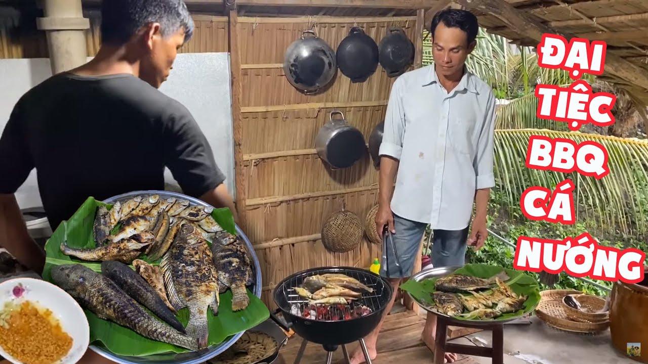 """Cá Nướng Chấm """" Muối Tây Ninh"""" • Kẹp Dưa Củ Cải Trắng • Chảy Hết Nước Miếng   BLĐT"""