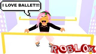 I THOUGHT I WAS THE BEST BALLET TEACHER EVER... WRONG!! (Roblox Roleplay)