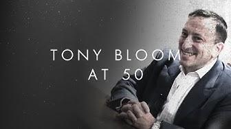 Brighton & Hove Albion Chairman Tony Bloom at 50