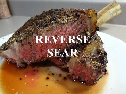 Reverse Seared Ribeye Steak On The Rec Tec Wood Pellet