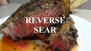 Big Steak - Reverse Sear Bbq Cooking Perfection - Bbqfood4u