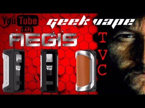 "AEGIS Mod ""Toughest Mod Ever"" By Geek Vape On TVC"