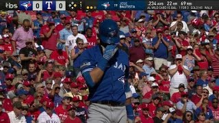 TOR@TEX Gm1: Bautista showered with boos in first AB