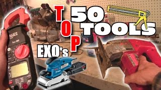 Basic Tools For Car Audio Builds // EXO's Top 50 Favorite Tools & Supplies | Just The Essentials