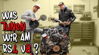 Was gibt es am Audi RS4 B7 zu tunen? - Motortausch Teil 3 | Philipp Kaess |