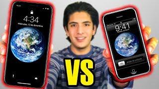 iPHONE X vs iPHONE 1 (2g) - 10 AÑOS