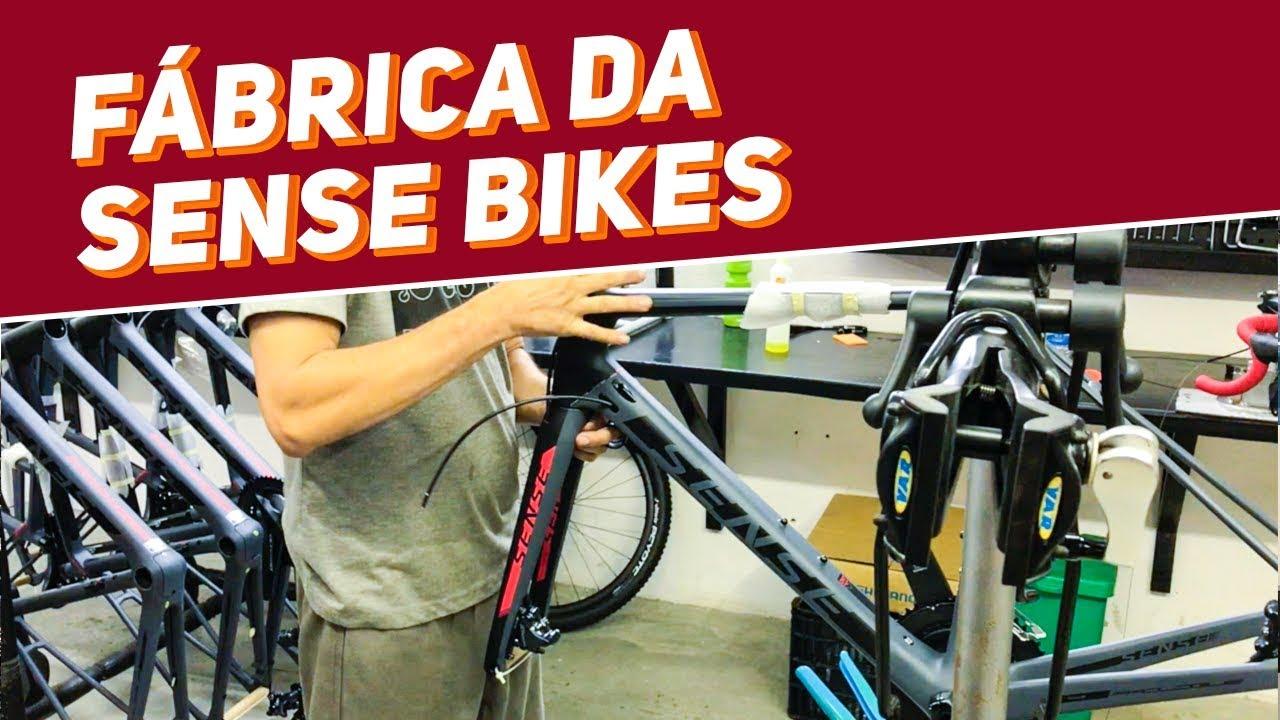 a1c47d5d1 Visita na fábrica da Sense Bikes em Manaus - Revista Ride Bike - YouTube