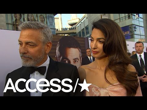 George Clooney & Amal Clooney Spill Details From Meghan Markle & Prince Harry's Wedding Reception