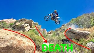 JUMPING THE GAP OF DEATH!!!(WORLD RECORD)