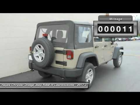 2017 jeep wrangler lawrenceville ga l736068 youtube. Black Bedroom Furniture Sets. Home Design Ideas