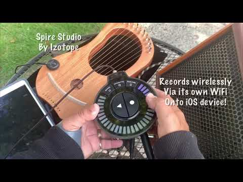 Lyre Harp improvisation using a Delay Pedal
