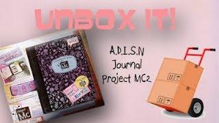 Video Unboxing the A.D.I.S.N. Journal download MP3, 3GP, MP4, WEBM, AVI, FLV Juli 2018