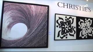 Emirati artists prepare for one of the UAE's main art fairs, the in...