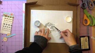 Scrapbook Process Video #26 - Ice & Snow