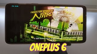 OnePlus 6 Need for Speed Nitro Gameplay Wii emulator Snapdragon 845 Dolphin latest version