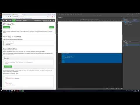 Webutveckling - Skapa HTML Och CSS Dokument (#1)