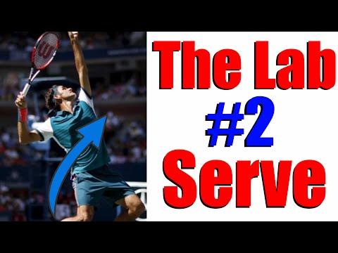 Tennis Serve Lesson - Balance on Serve | The Lab #2 🎾