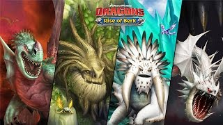 Dragons: Rise of Berk - BEWILDERBEAST/GREEN DEATH/FOREVERWING/SCREAMING DEATH