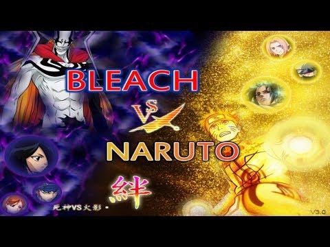 Bleach vs Naruto 3.0 is here!!! New Characters