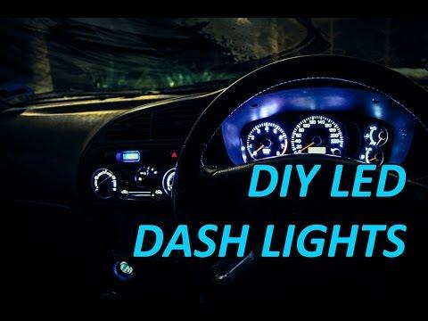 diy led dash lights res car adventures youtube. Black Bedroom Furniture Sets. Home Design Ideas