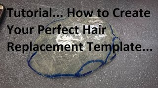 Hair Replacement Tutorial..How to create the perfect head template for your Hair Replacement System