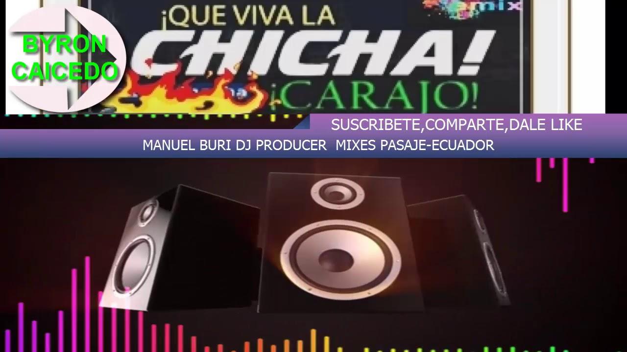 ♫ ♬MIX BAYRON CAICEDO/ MIX LO NUEVO Y MEJOR /SUS MEJORES EXITOS / CHICHA  MIX ECUADOR - Музыка для Машины