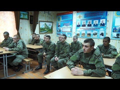 Как живут солдаты в военной части города Кореновска