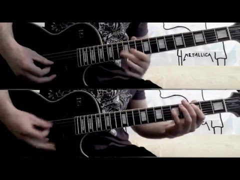 Megadeth - Poisonous Shadows (Full Guitar Cover +all solos!)