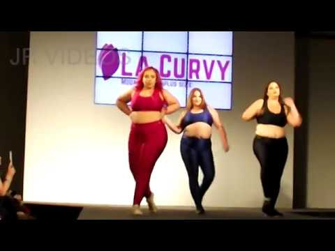 ad34604274 17º Fashion Weekend Plus Size La curvy Apresentação de dança - YouTube