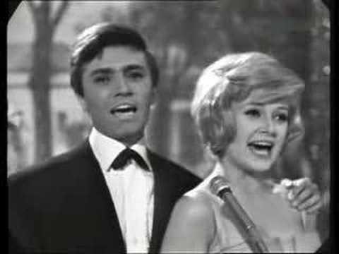 Gitte Haenning & Rex Gildo  Jetzt dreht die Welt sich nur um dich 1964