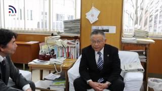 山口信也喜多方市長当選インタビュー