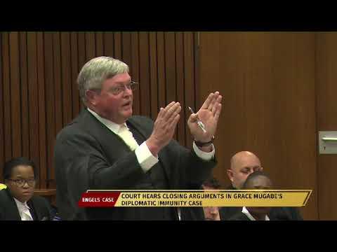 Court hears closing arguments in Grace Mugabe diplomatic immunity case