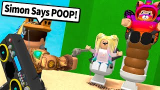 SIMON SAYS with ADMIN COMMANDS in Murder Mystery 2!! (Roblox Modded MM2)