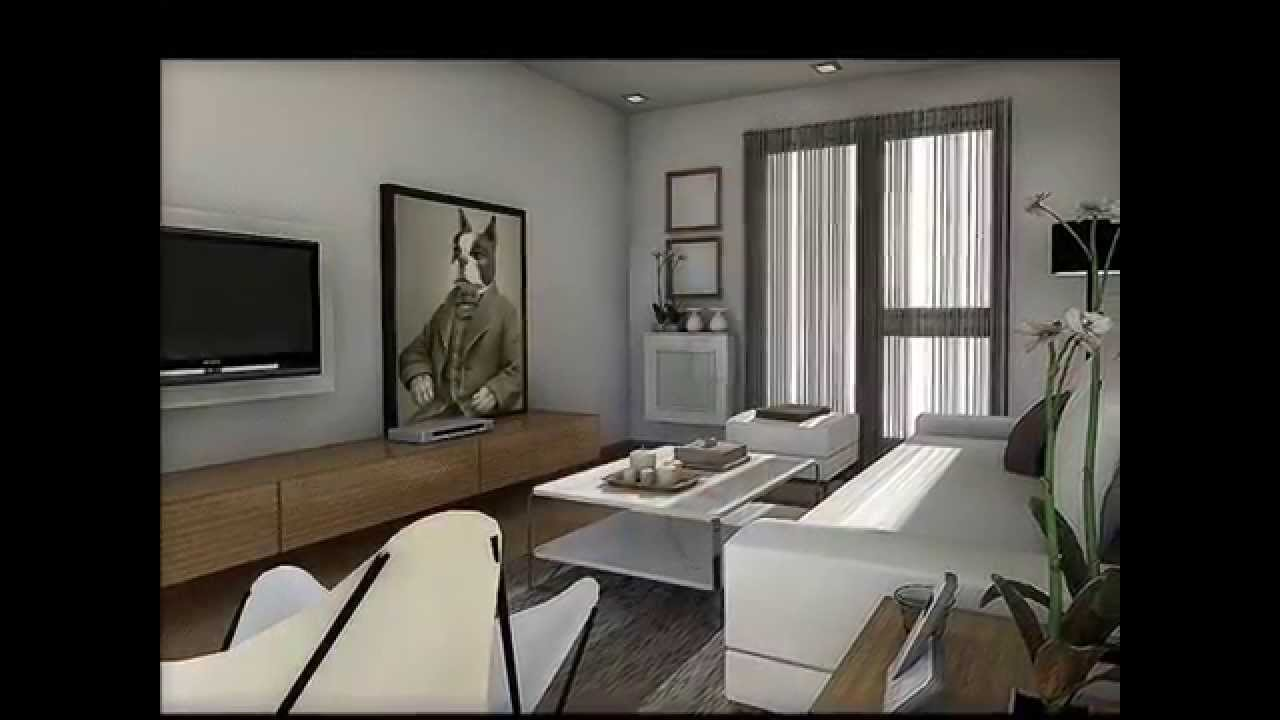 Dise o interior reforma piso 100 m2 youtube for Decoracion casa 90m2
