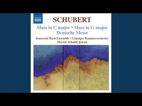 Deutsche Messe, D. 872: Zum Agnus Dei: Massig