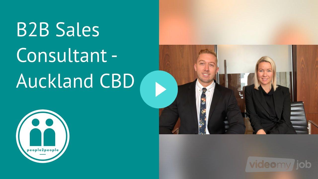 B2B Sales Consultant - Auckland CBD