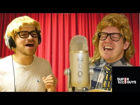 HUNGRY GUYS - HUNGRY EYES PARODY SONG