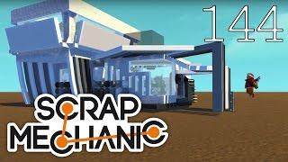 Scrap Mechanic [#144] Najlepsze projekty DOMÓW 2! Warsztat Steam! HD