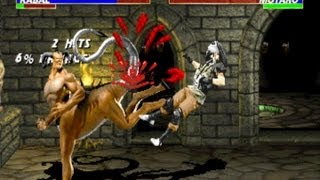 Mortal Kombat 3 arcade Kabal Gameplay Playthrough Longplay