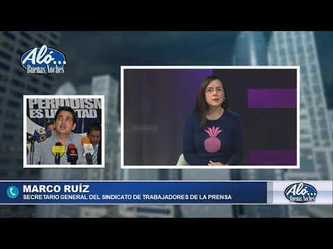 """Marco Ruiz: """"El último mensaje de Jesús Medina fue: Me agarraron"""". Aló Buenas Noches. Seg. 3"""
