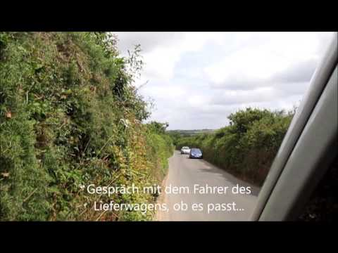 Suedengland Cornwall Momentaufnahme Wohnmobil