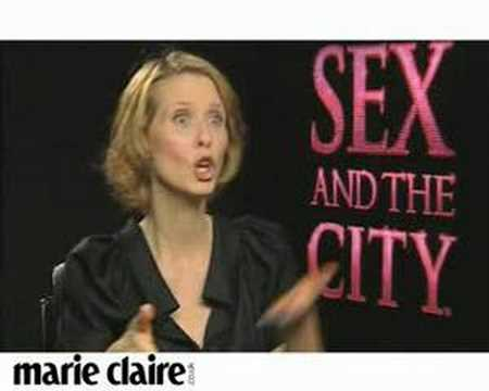 Marie Claire TV: Cynthia Nixon interview