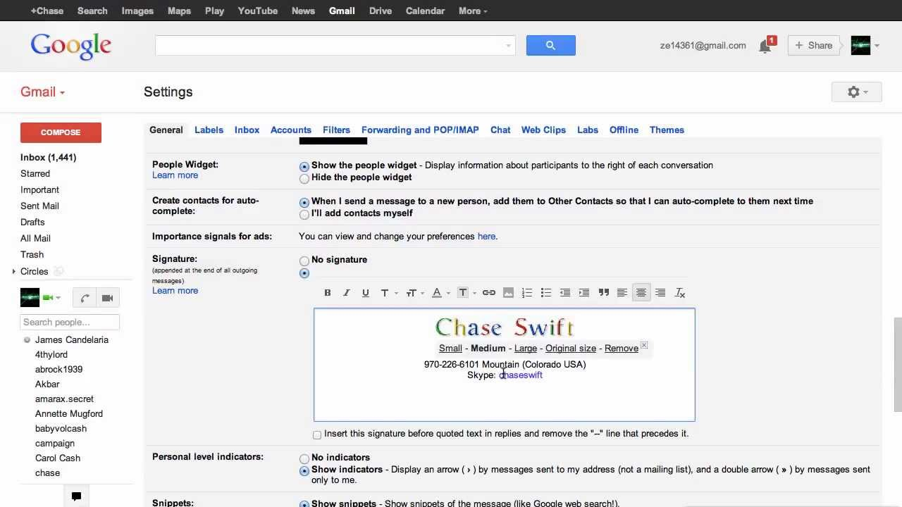 Google Font Creator for Gmail Signatures! - YouTube