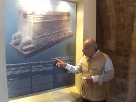 Discovering The Sarcophagus of King Ahiram 1923 - Jbeil Byblos,Lebanon